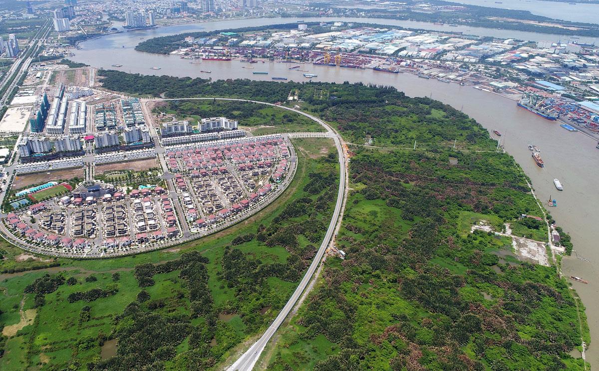 Cầu Thủ Thiêm 4 kết nối khu đô thị mới Thủ Thiêm với quận 7 - Dự án Cầu Thủ Thiêm 4 - Kết nối Quận 2 với Quận 7