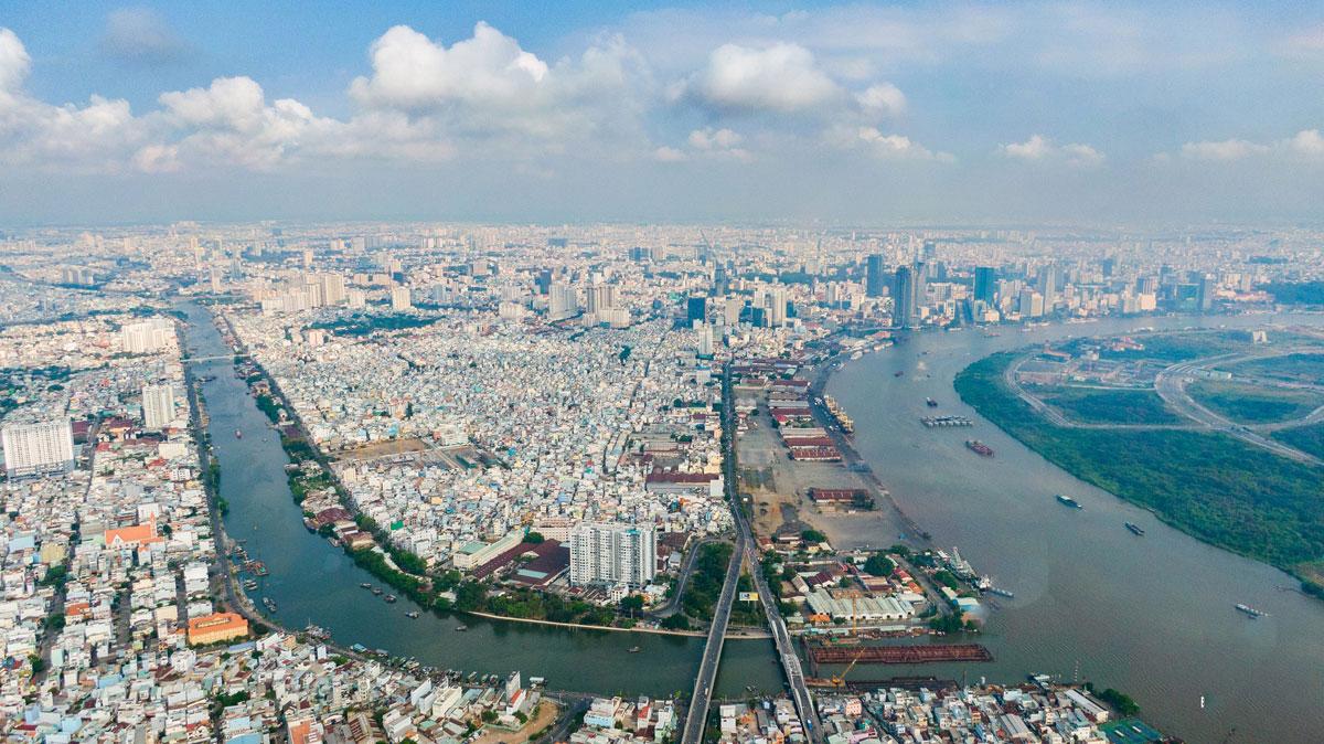 Khu vực sẽ được xây dựng cầu Thủ Thiêm 3 trong tương lại - Cầu Thủ Thiêm 3 - Thông tin Cập nhật mới nhất