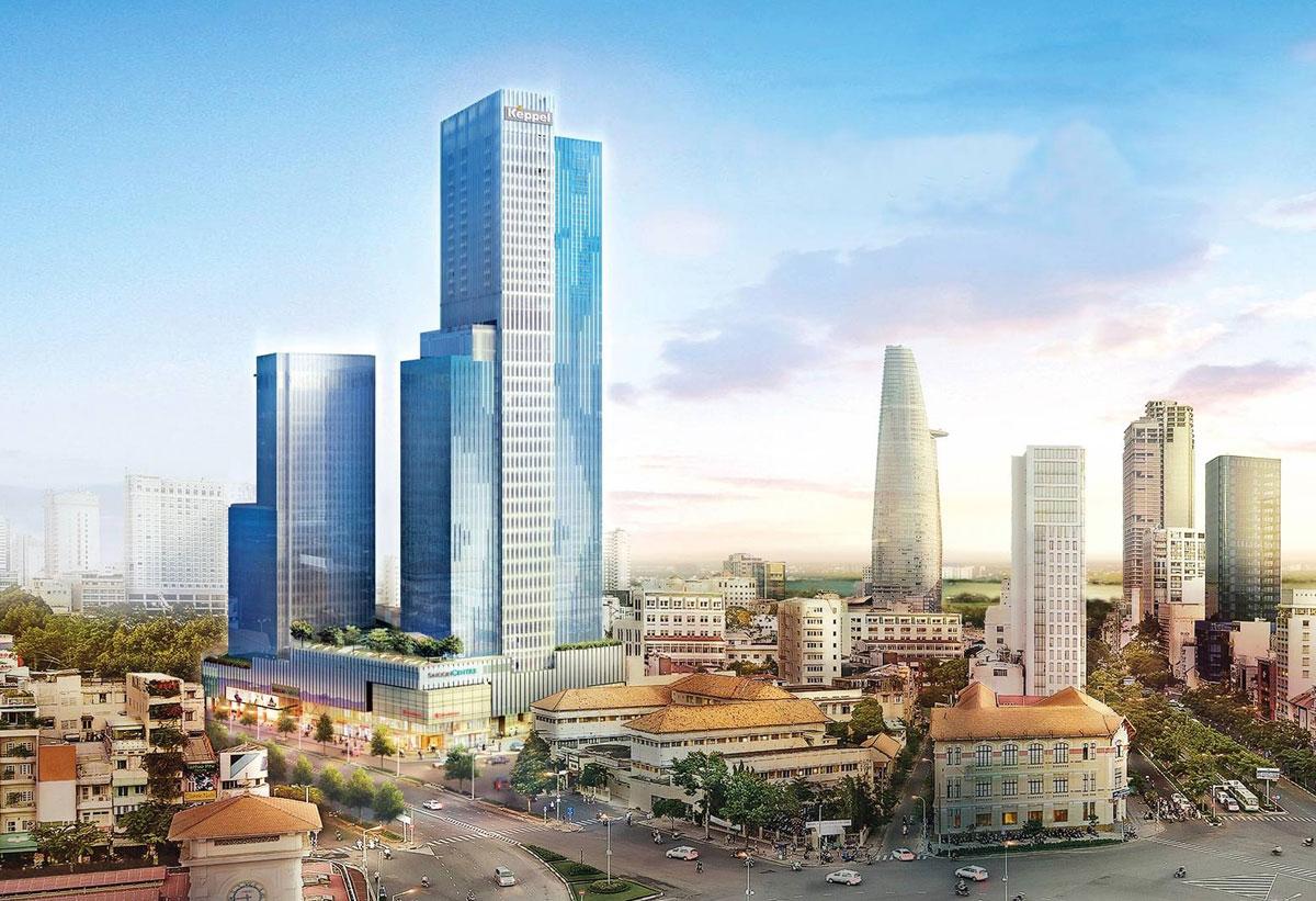 Saigon Centre Tower 2 - SUNSHINE TOWER QUẬN 1