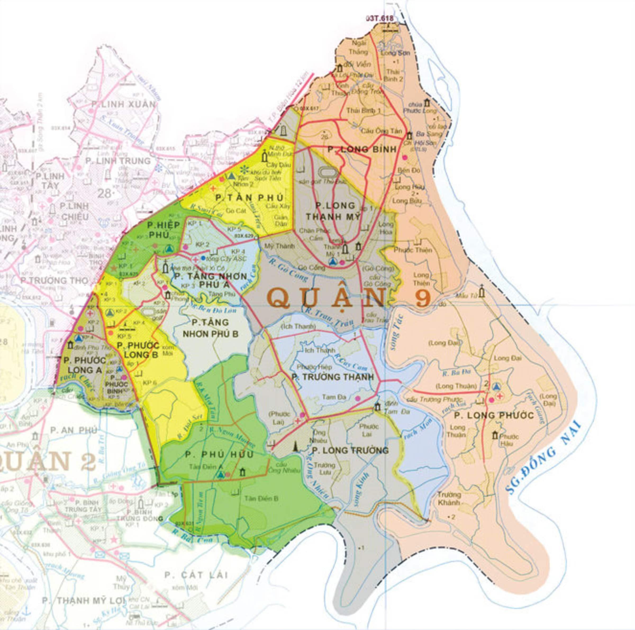 ban do quan 9 tphcm - BẢN ĐỒ HÀNH CHÍNH QUẬN 9 TPHCM & THÔNG TIN QUY HOẠCH MỚI NHẤT 2020