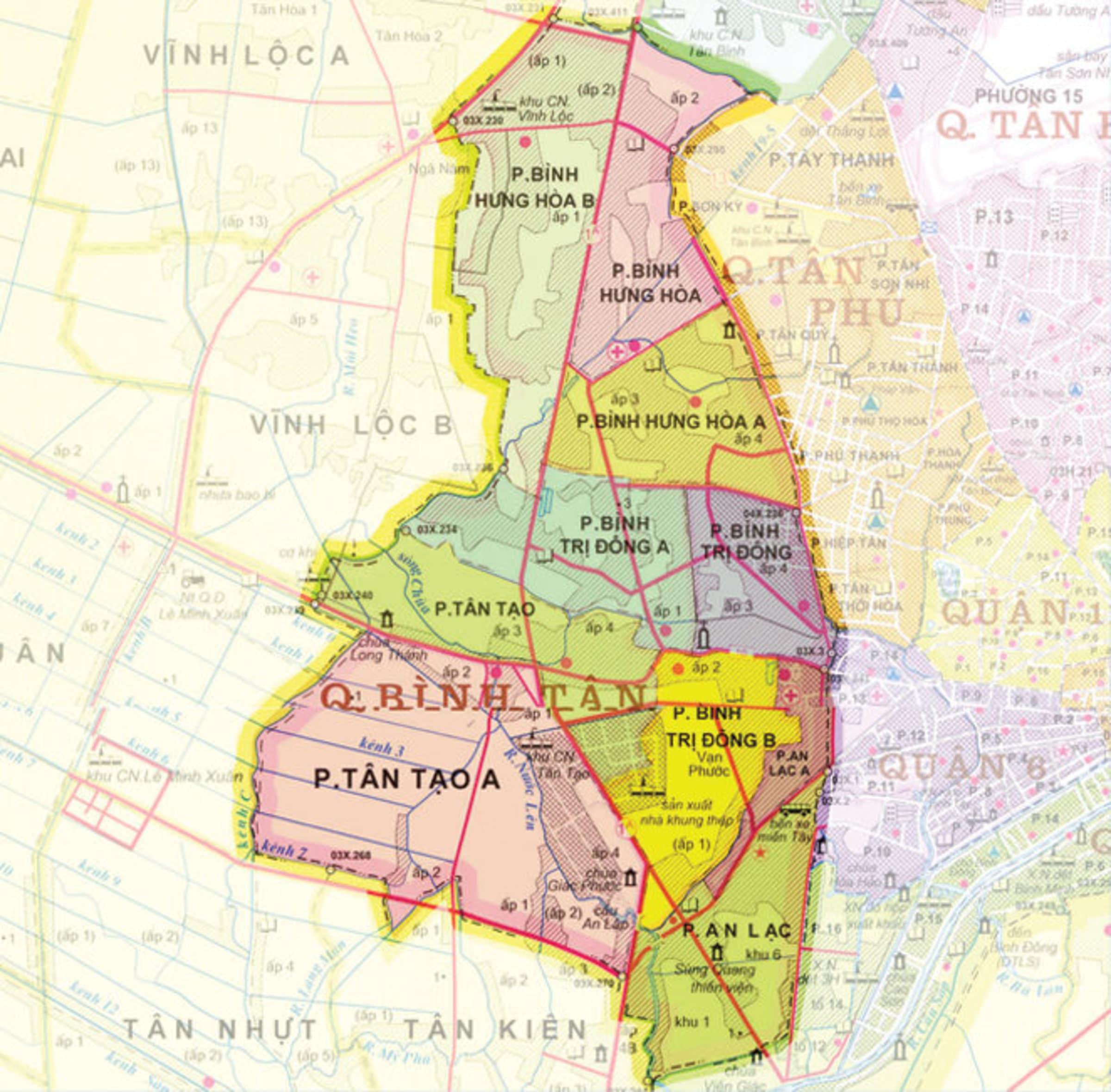 ban do quan binh tan tphcm - BẢN ĐỒ HÀNH CHÍNH QUẬN BÌNH TÂN TPHCM & THÔNG TIN QUY HOẠCH MỚI NHẤT 2020