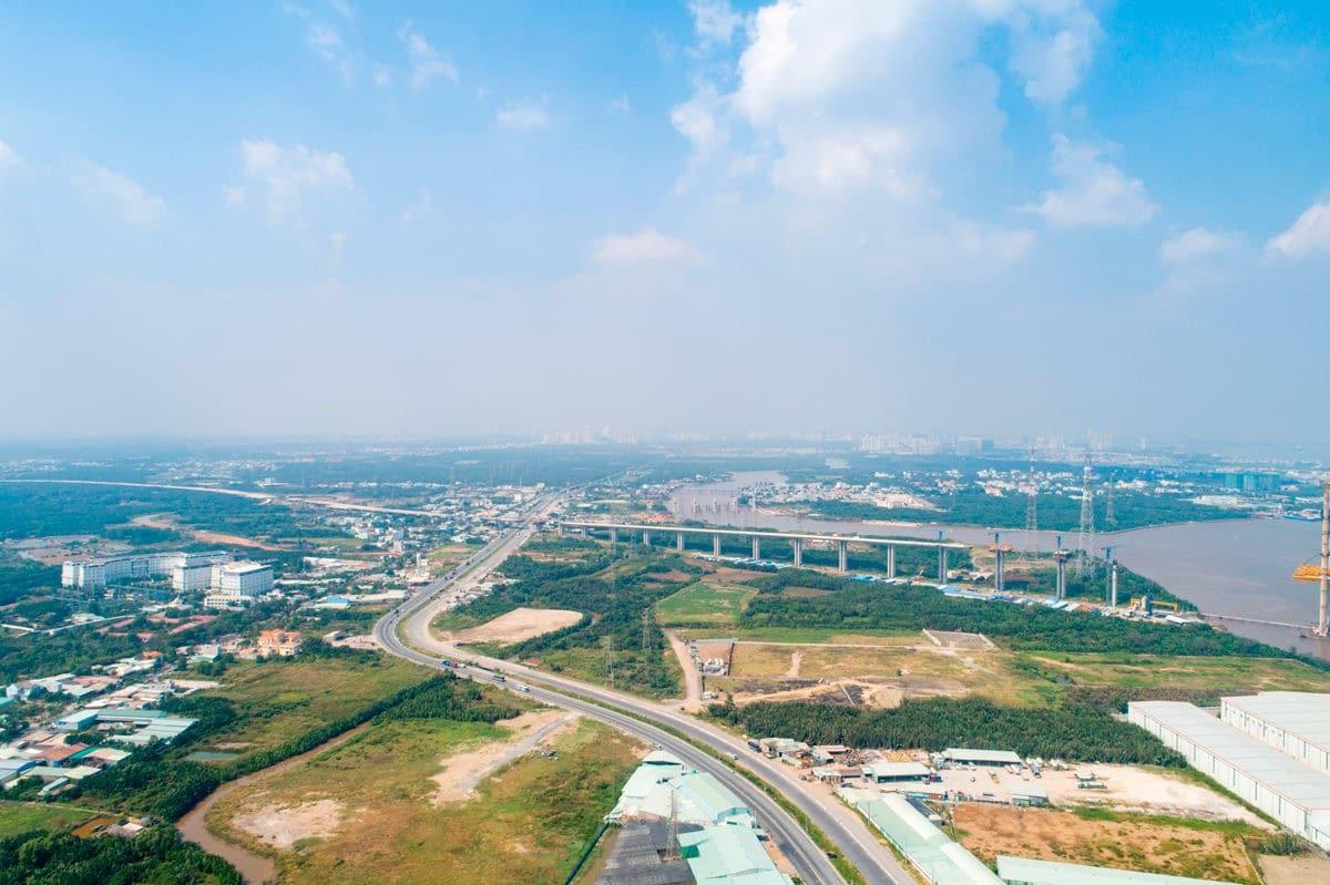 Tiến độ cao tốc Bến Lức - Long Thành khúc Khu công nghiệp Hiệp Phước