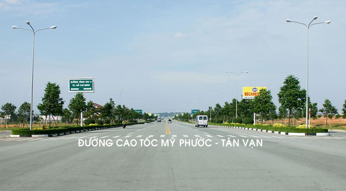 Dự Án Tuyến đường Cao Tốc Mỹ Phước - Tân Vạn