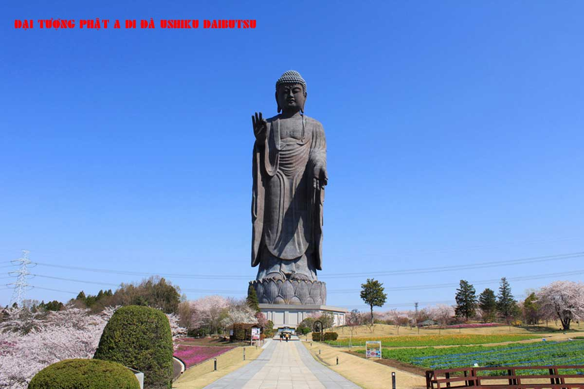 Đại Tượng Phật A Di Đà Ushiku Daibutsu - TOP 10 BỨC TƯỢNG CAO NHẤT THẾ GIỚI CẬP NHẬT MỚI NHẤT NĂM 2021