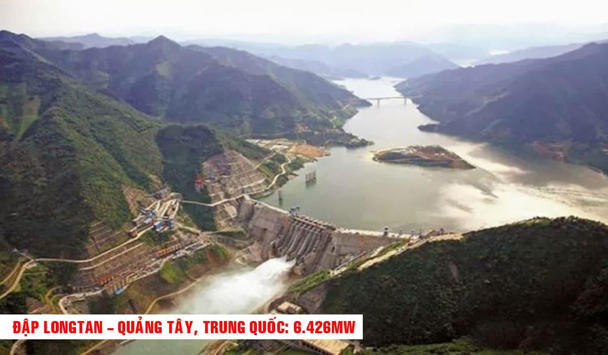 Đập Longtan - TOP 10 NHÀ MÁY ĐẬP THỦY ĐIỆN LỚN NHẤT THẾ GIỚI HIỆN NAY 2021