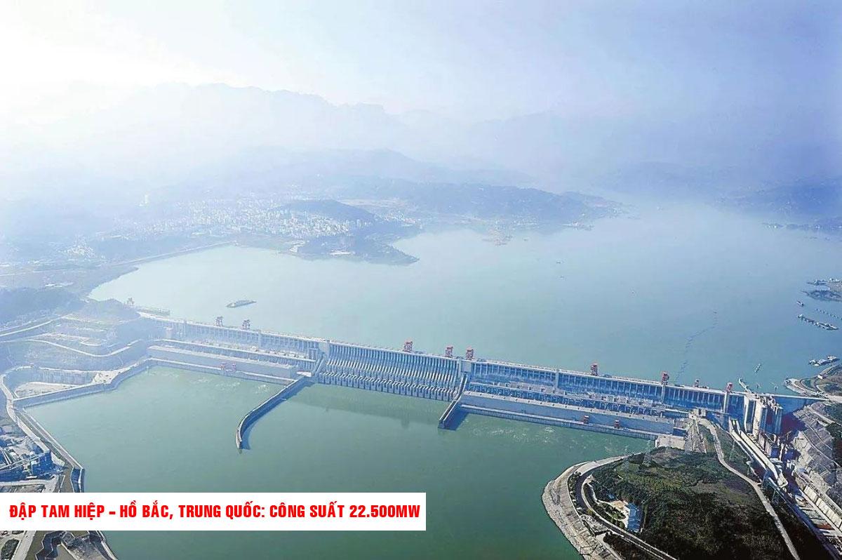 Đập Tam Hiệp Hồ Bắc Trung Quốc Công suất 22.500MW - TOP 10 NHÀ MÁY ĐẬP THỦY ĐIỆN LỚN NHẤT THẾ GIỚI HIỆN NAY 2021