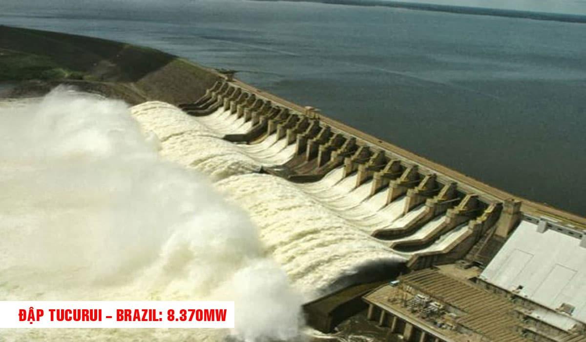 Đập Tucurui Brazil - TOP 10 NHÀ MÁY ĐẬP THỦY ĐIỆN LỚN NHẤT THẾ GIỚI HIỆN NAY 2021