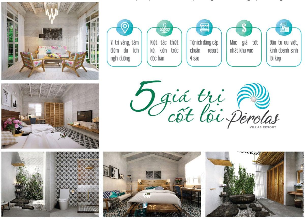 5 gia tri du an perolas villas resort - DỰ ÁN BIỆT THỰ PÉROLAS VILLAS RESORT MŨI KÊ GÀ BÌNH THUẬN