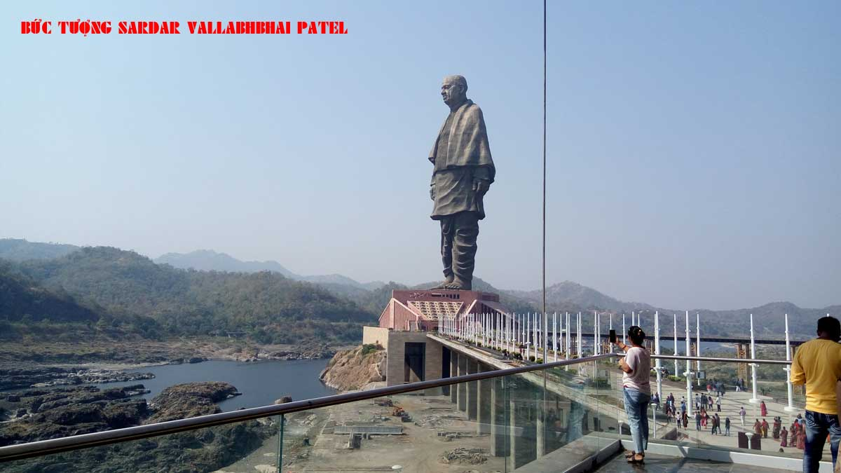 Bức Tượng Sardar Vallabhbhai Patel - TOP 10 BỨC TƯỢNG CAO NHẤT THẾ GIỚI CẬP NHẬT MỚI NHẤT NĂM 2021