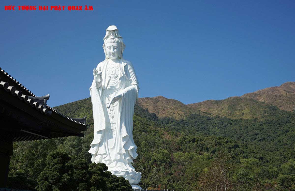Bức tượng Đại Phật Quan Âm - TOP 10 BỨC TƯỢNG CAO NHẤT THẾ GIỚI CẬP NHẬT MỚI NHẤT NĂM 2021