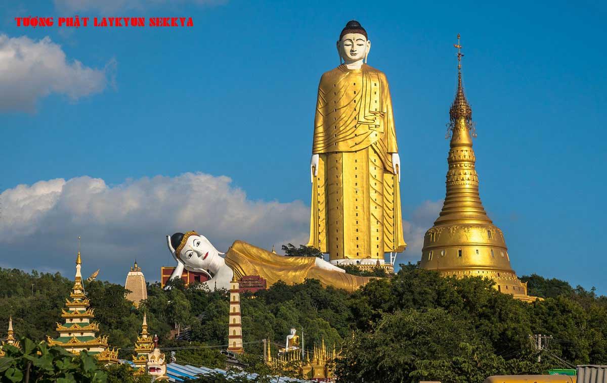 Bức tượng Tượng Phật Laykyun Sekkya - TOP 10 BỨC TƯỢNG CAO NHẤT THẾ GIỚI CẬP NHẬT MỚI NHẤT NĂM 2021