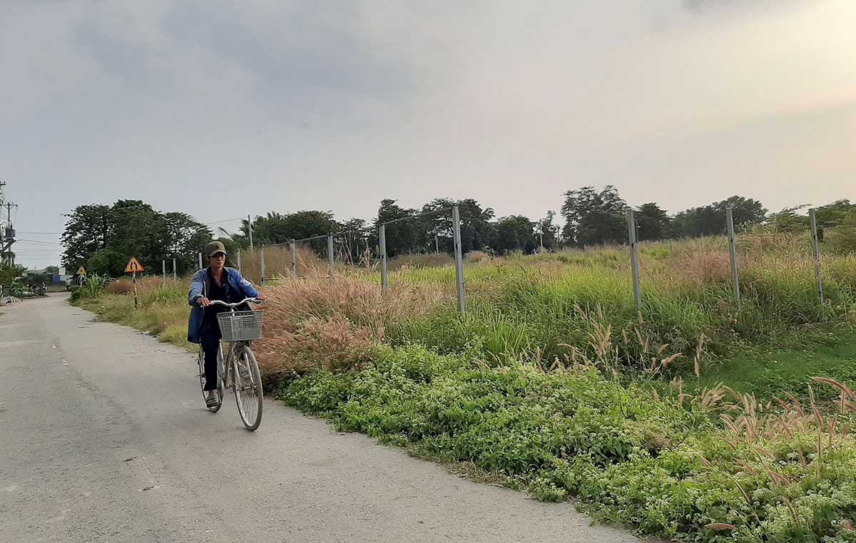 Nhiều khu đất bỏ hoang trong khu quy hoạch cây xanh 150ha phường Thạnh Xuân - Dự án Công Viên 150Ha Quận 12