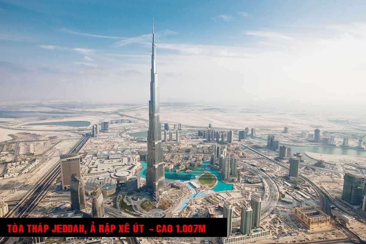 Tòa Nhà Jeddah Ả Rập Xê Út 1 - TOP 16 TÒA NHÀ CAO NHẤT THẾ GIỚI CẬP NHẬT MỚI NHẤT NĂM 2021
