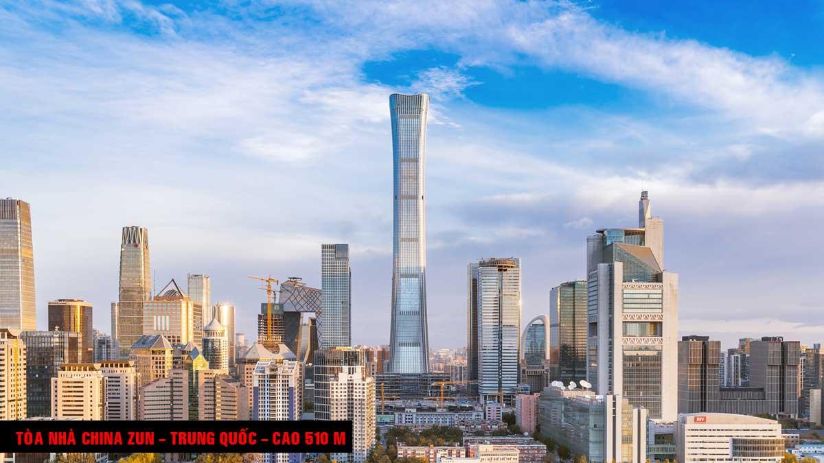 Tòa nhà China Zun - TOP 16 TÒA NHÀ CAO NHẤT THẾ GIỚI CẬP NHẬT MỚI NHẤT NĂM 2021
