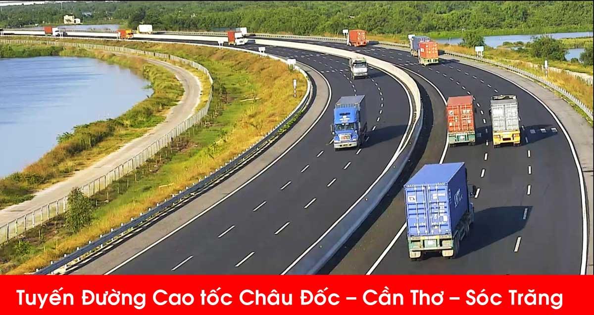 Tuyến Đường Cao tốc Châu Đốc Cần Thơ Sóc Trăng - Tuyến Đường Cao tốc Châu Đốc – Cần Thơ – Sóc Trăng cập nhật mới nhất