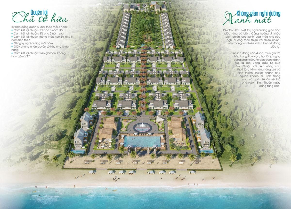 biet thu perolas villas resort - DỰ ÁN BIỆT THỰ PÉROLAS VILLAS RESORT MŨI KÊ GÀ BÌNH THUẬN