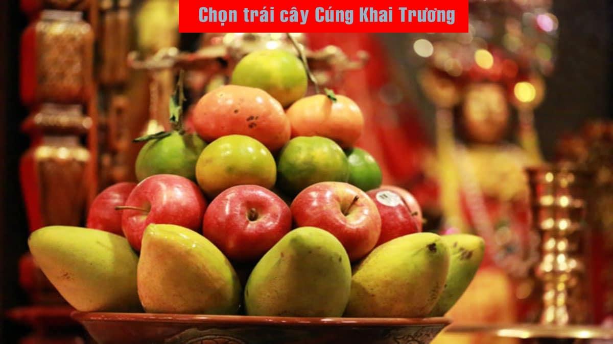 cac loai trai cay cung khai truong - Hướng dẫn cách Cúng Khai Trương đúng Phong Thủy mới nhất Năm 2021