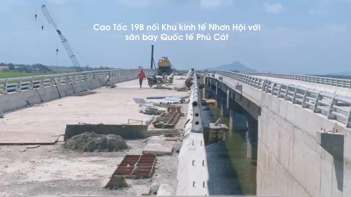 cao toc 19b - Cao Tốc 19B nối Khu kinh tế Nhơn Hội với sân bay Quốc tế Phù Cát