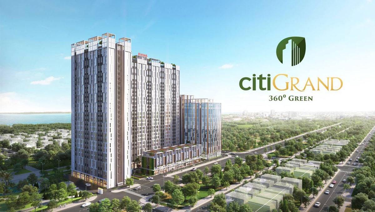Giá bán dự án căn hộ Citigrand Quận 2