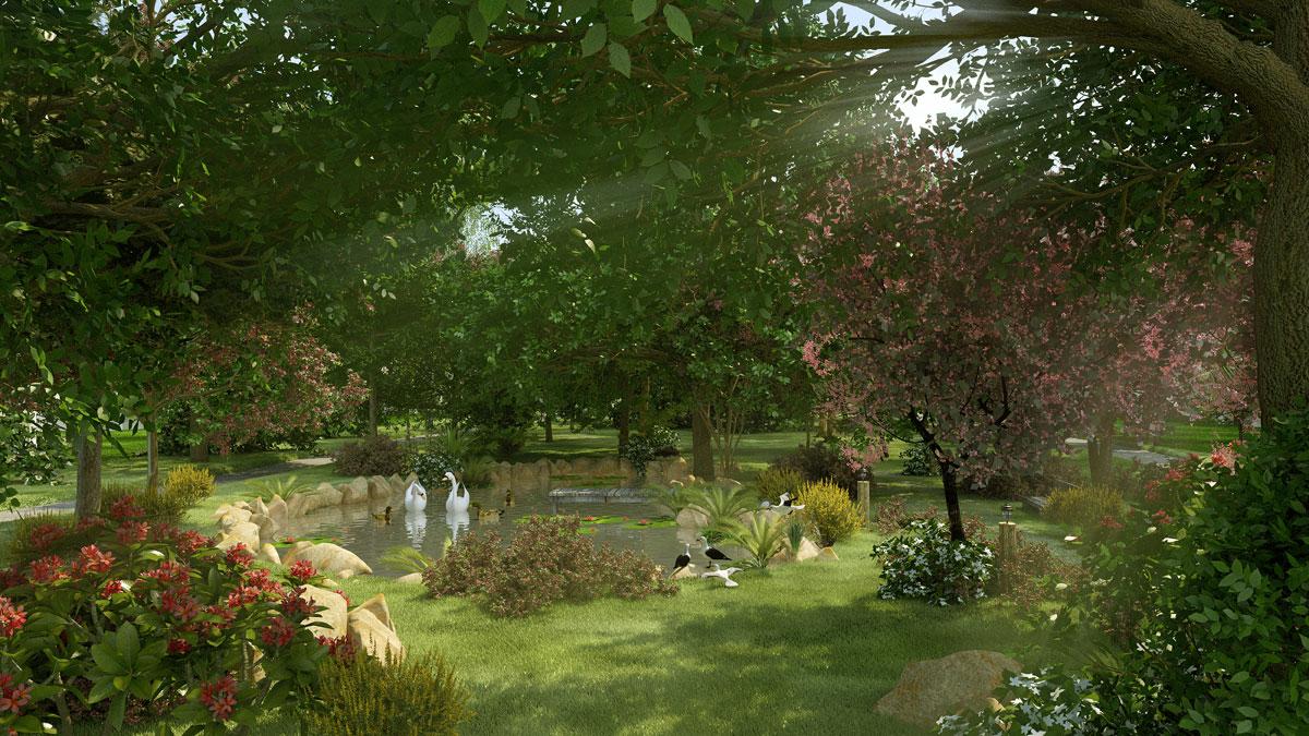 ho canh quan trong rung nhiet doi du an perolas villas resort - DỰ ÁN BIỆT THỰ PÉROLAS VILLAS RESORT MŨI KÊ GÀ BÌNH THUẬN