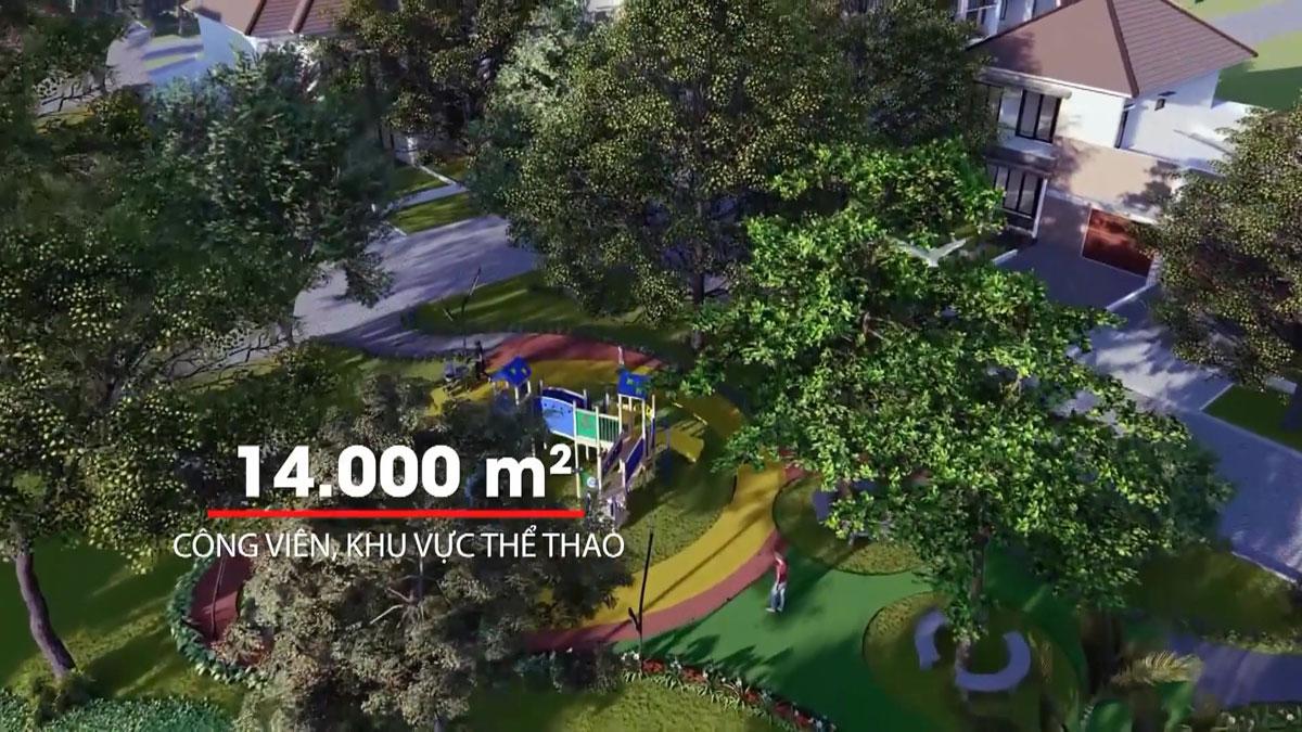 khu cong vien va the thao thang long residence - DỰ ÁN KHU DÂN CƯ THĂNG LONG RESIDENCE BÌNH DƯƠNG