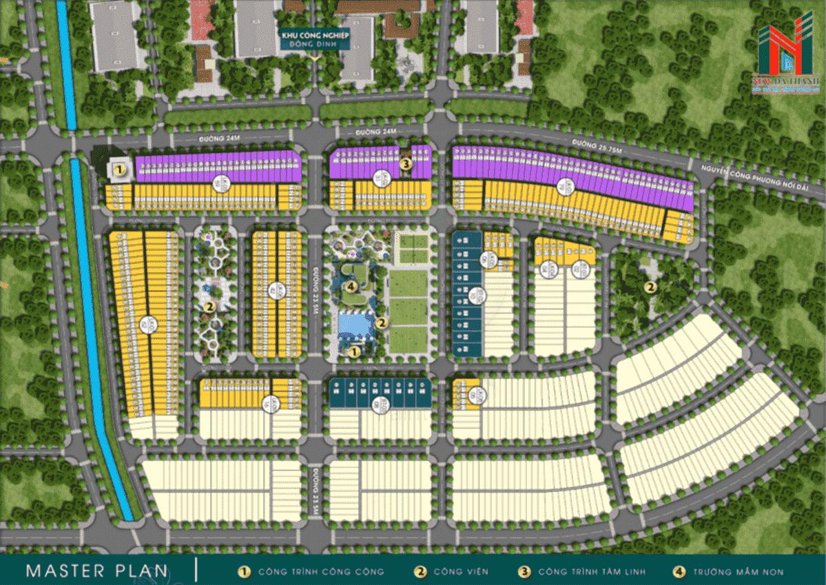 mat bang phan lo nghia hanh new center - DỰ ÁN NGHĨA HÀNH NEW CENTER QUẢNG NGÃI