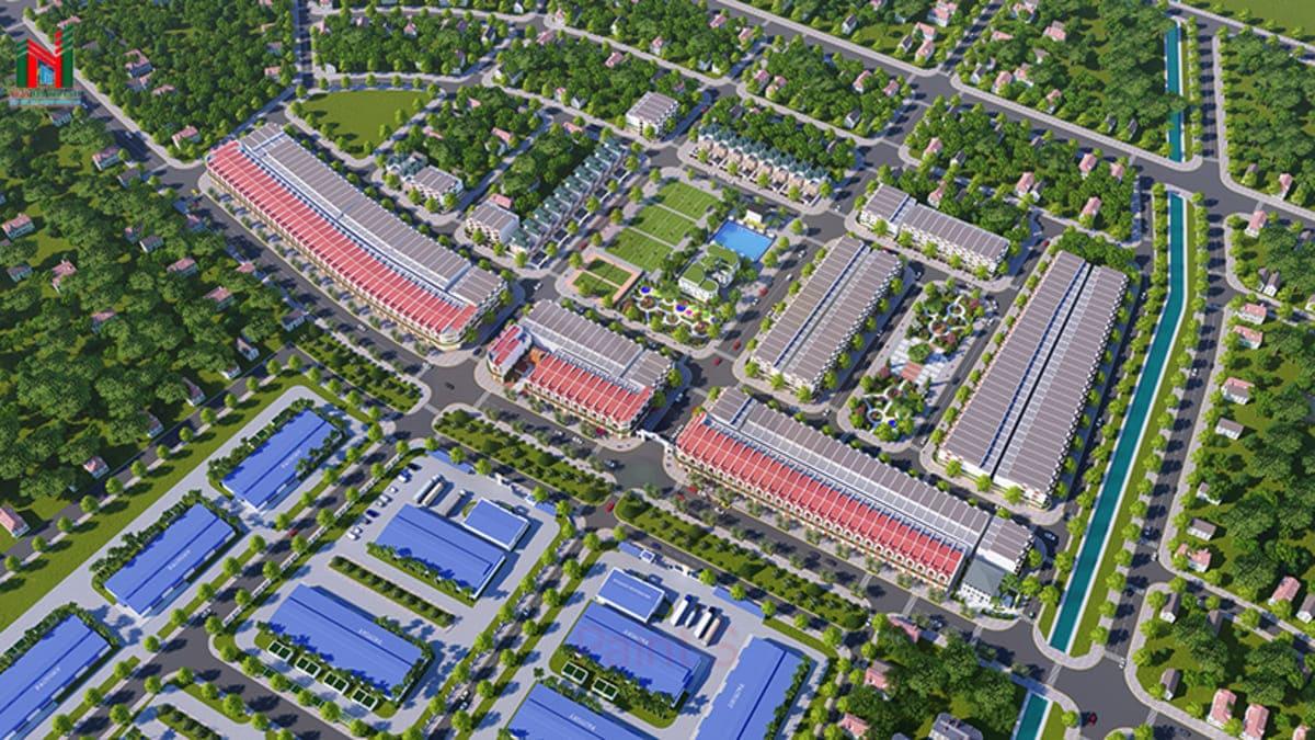 phoi canh nghia hanh new center - DỰ ÁN NGHĨA HÀNH NEW CENTER QUẢNG NGÃI