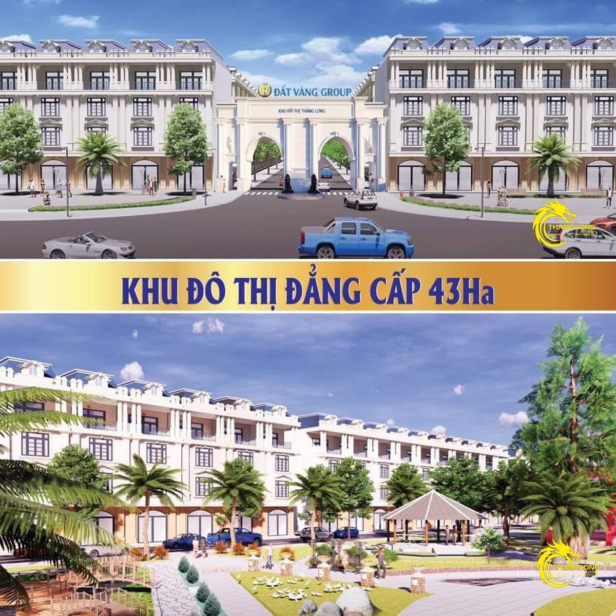 phoi canh nha pho khu dan cu thang long residence binh duong - DỰ ÁN KHU DÂN CƯ THĂNG LONG RESIDENCE BÌNH DƯƠNG