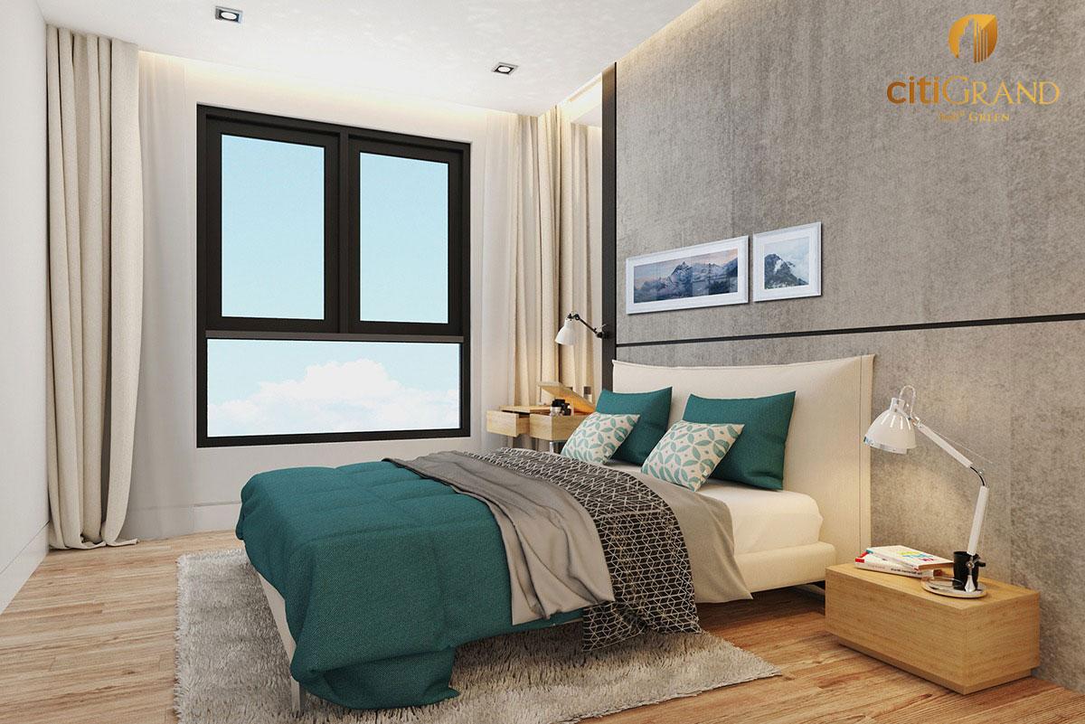 Phòng ngủ nhỏ Căn hộ Citi Grand Quận 2