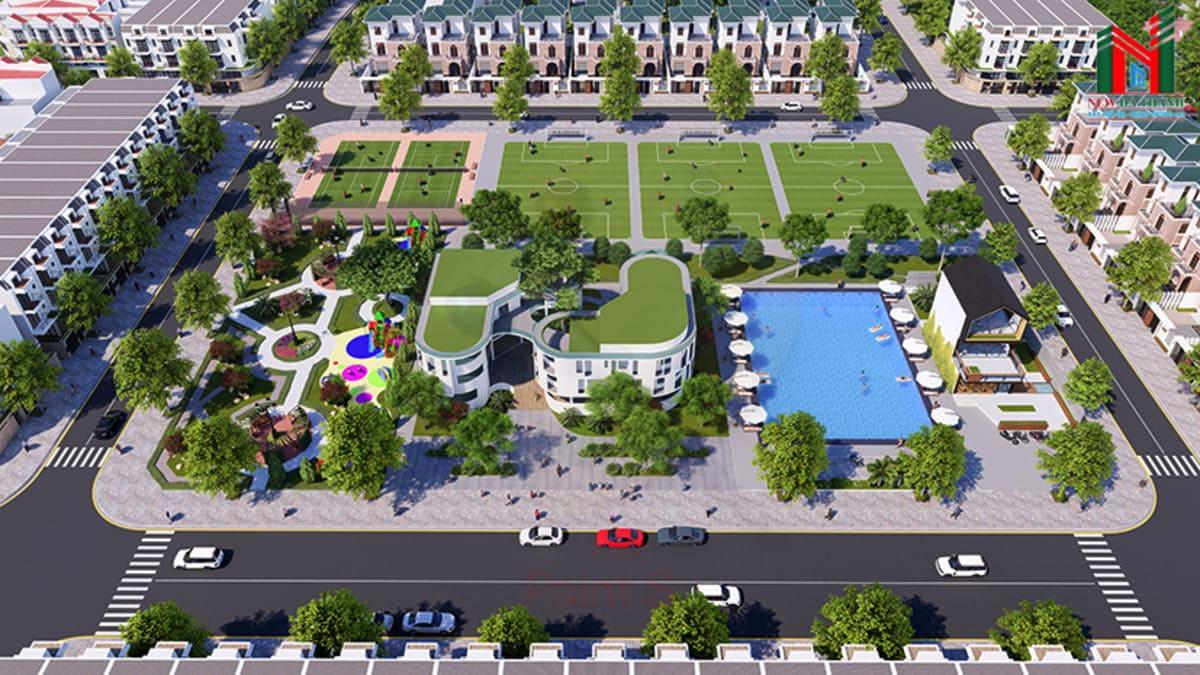 san the thao va cong vien nghia hanh new center - DỰ ÁN NGHĨA HÀNH NEW CENTER QUẢNG NGÃI