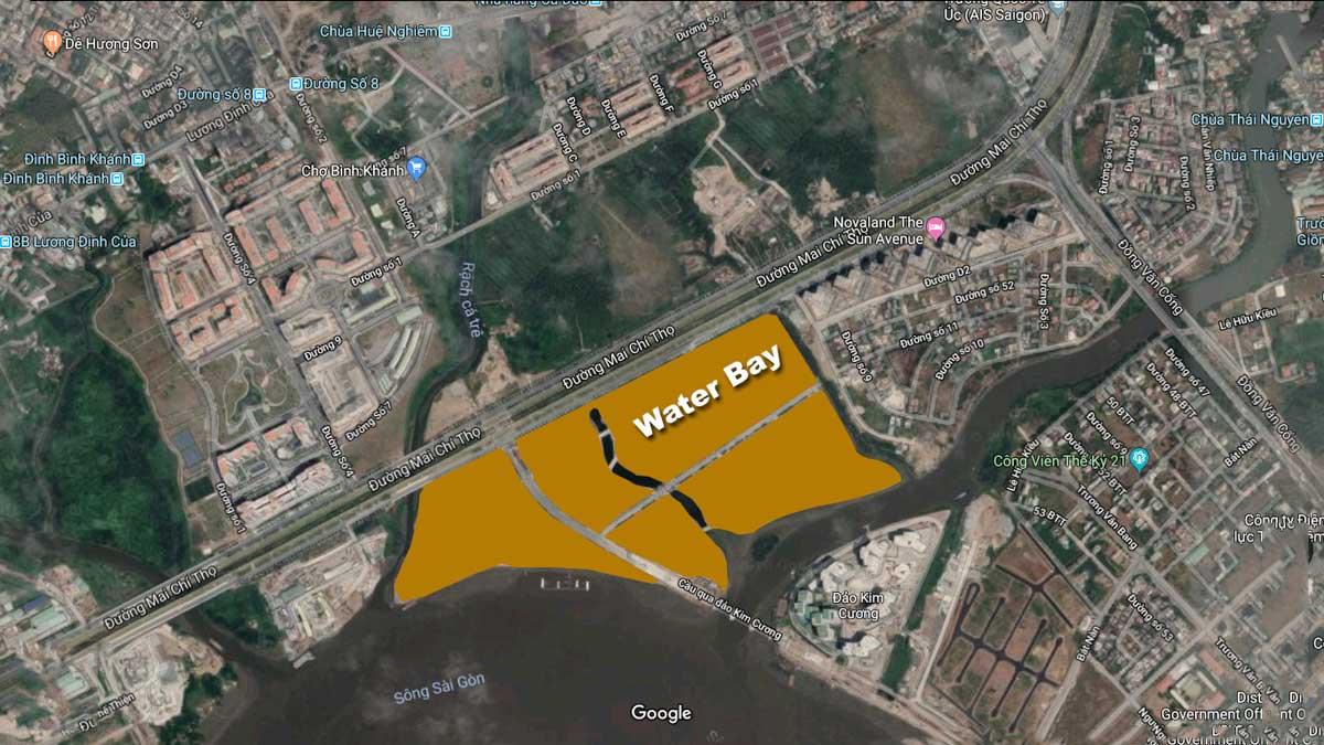 vi tri du an water bay - DỰ ÁN CĂN HỘ WATER BAY QUẬN 2