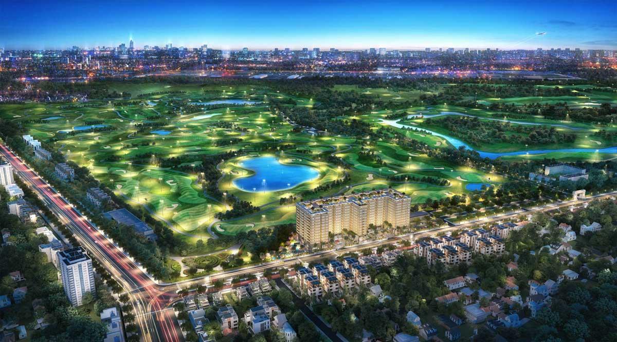 Dự án Căn hộ Chung cư Golf View Palace Tân Bình