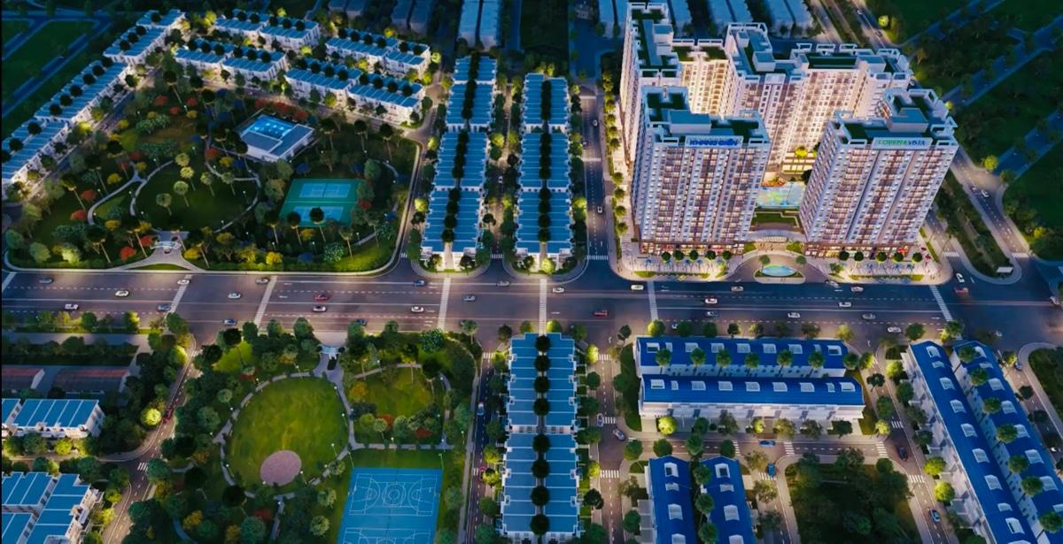 Tien ich noi khu Du an The Green Village - DỰ ÁN THE GREEN VILLAGE KHANG ĐIỀN BÌNH CHÁNH
