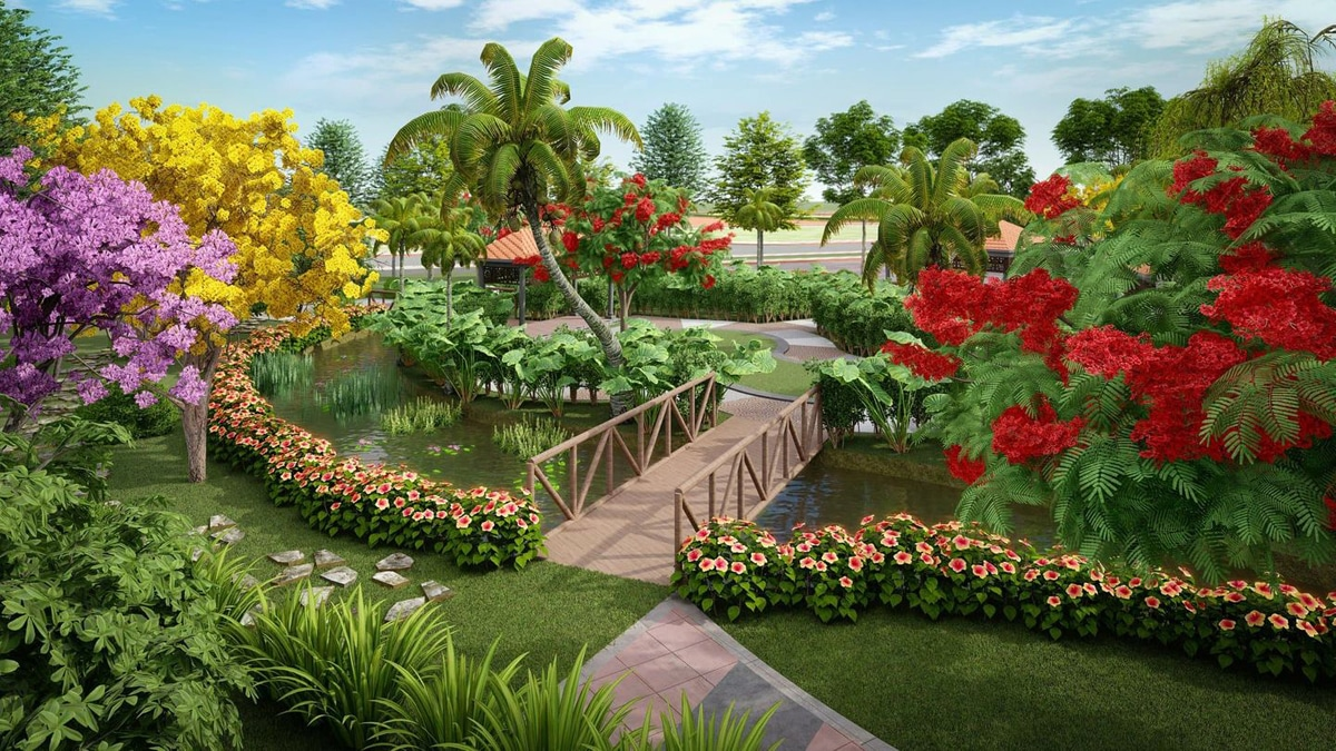 cong vien du an eco garden hue - DỰ ÁN ECO GARDEN HUẾ