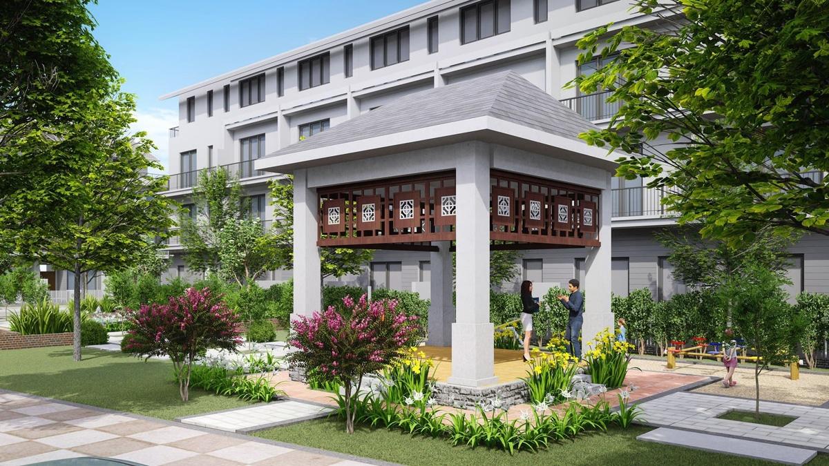 cong vien noi khu du an eco garden hue - DỰ ÁN ECO GARDEN HUẾ