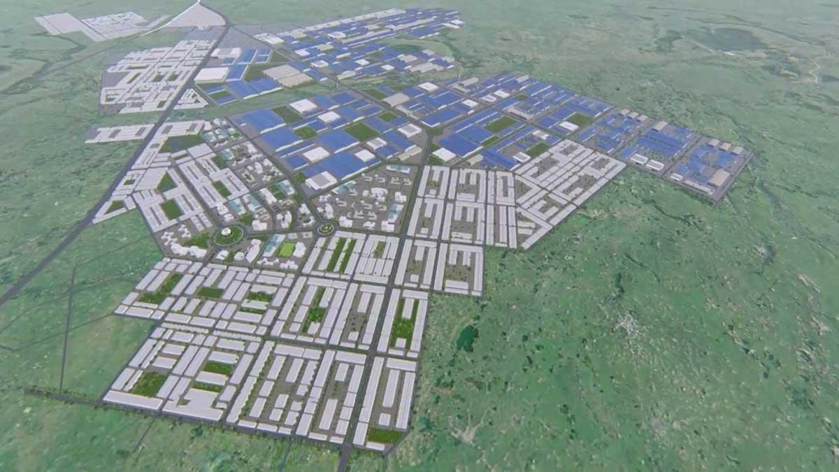 Dự án Khu liên hợp công nghiệp và đô thị Becamex - Bình Phước