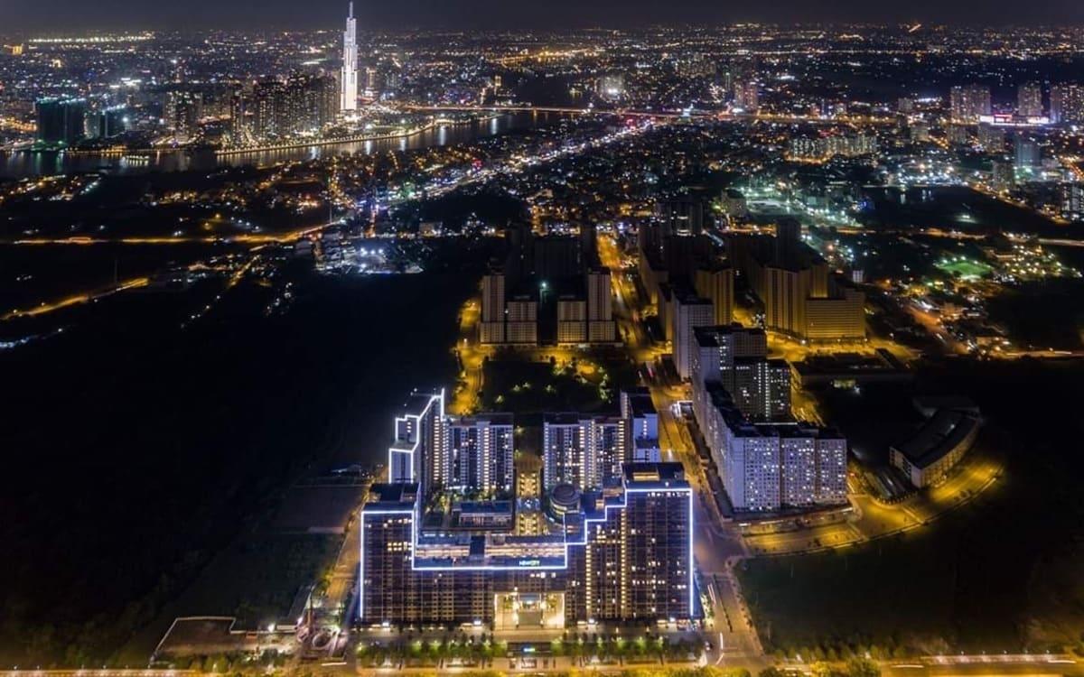 hinh mat tien new city thu thiem - CĂN HỘ NEW CITY THỦ THIÊM QUẬN 2