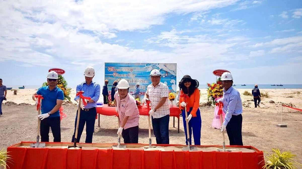 khởi công dự án Charm Hồ Tràm Resort - CHARM RESORT HỒ TRÀM