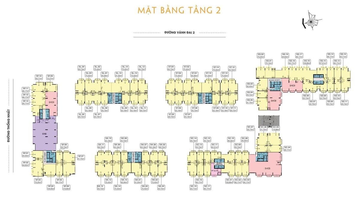 mat bang tang 2 du an 9x next gen - DỰ ÁN CĂN HỘ 9X NEXT GEN BÌNH DƯƠNG