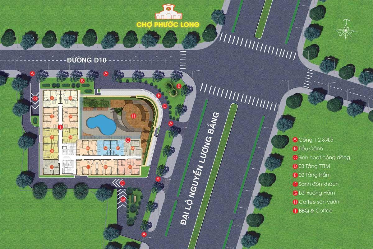 mat bang tong the du an viva plaza - VIVA PLAZA QUẬN 7