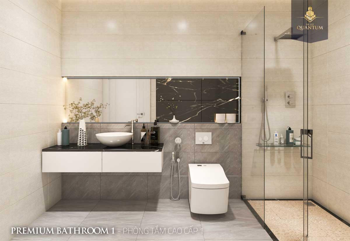 toilet can ho De 1st Quantum - DỰ ÁN CĂN HỘ DE 1ST QUANTUMHUẾ