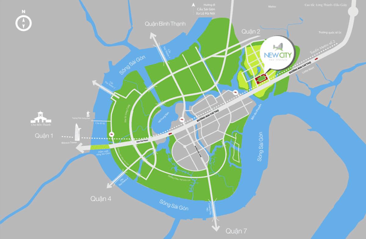 vi tri new city thu thiem quan 2 - CĂN HỘ NEW CITY THỦ THIÊM QUẬN 2
