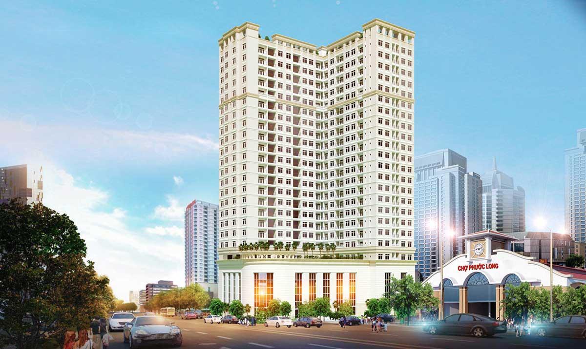 Phối cảnh Dự án Căn hộ ViVa Plaza Nguyễn Lương Bằng Quận 7