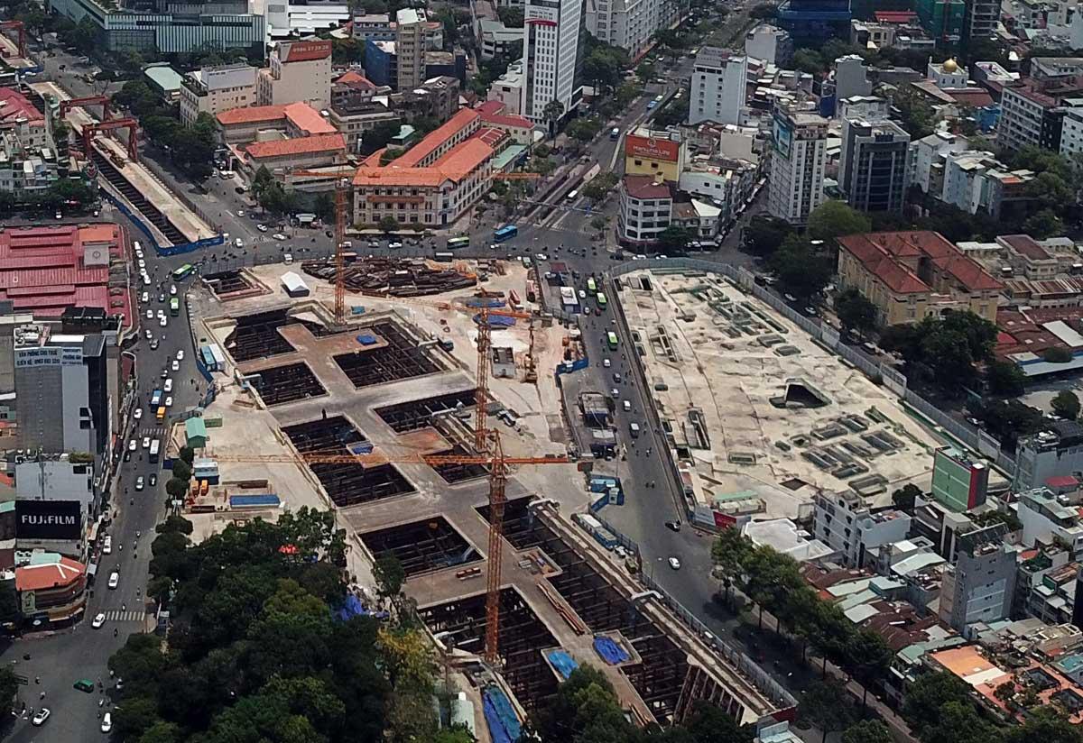 Dồn lực giải phóng mặt bằng đẩy nhanh tiến độ Metro Số 2 - Thông tin Tuyến Metro số 2: Bến Thành – Tham Lương