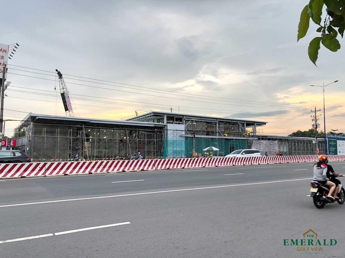 Hinh anh thi cong khu nha mau du an the emerald golf view thang 6 nam 2020 - THE EMERALD GOLF VIEW BÌNH DƯƠNG