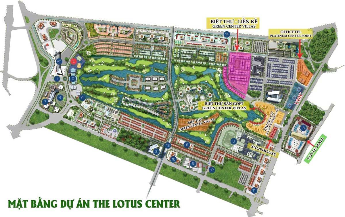 Lotus Center Long An - CÔNG TY CP ĐỊA ỐC NAM PHONG SÀI GÒN - NAM PHONG GROUP