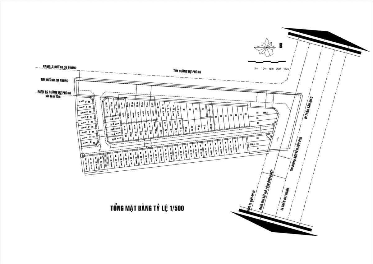 Mặt bằng 1 phần 500 Dự án Saigon West Broadway - DỰ ÁN SAIGON WEST BROADWAY BÌNH TÂN