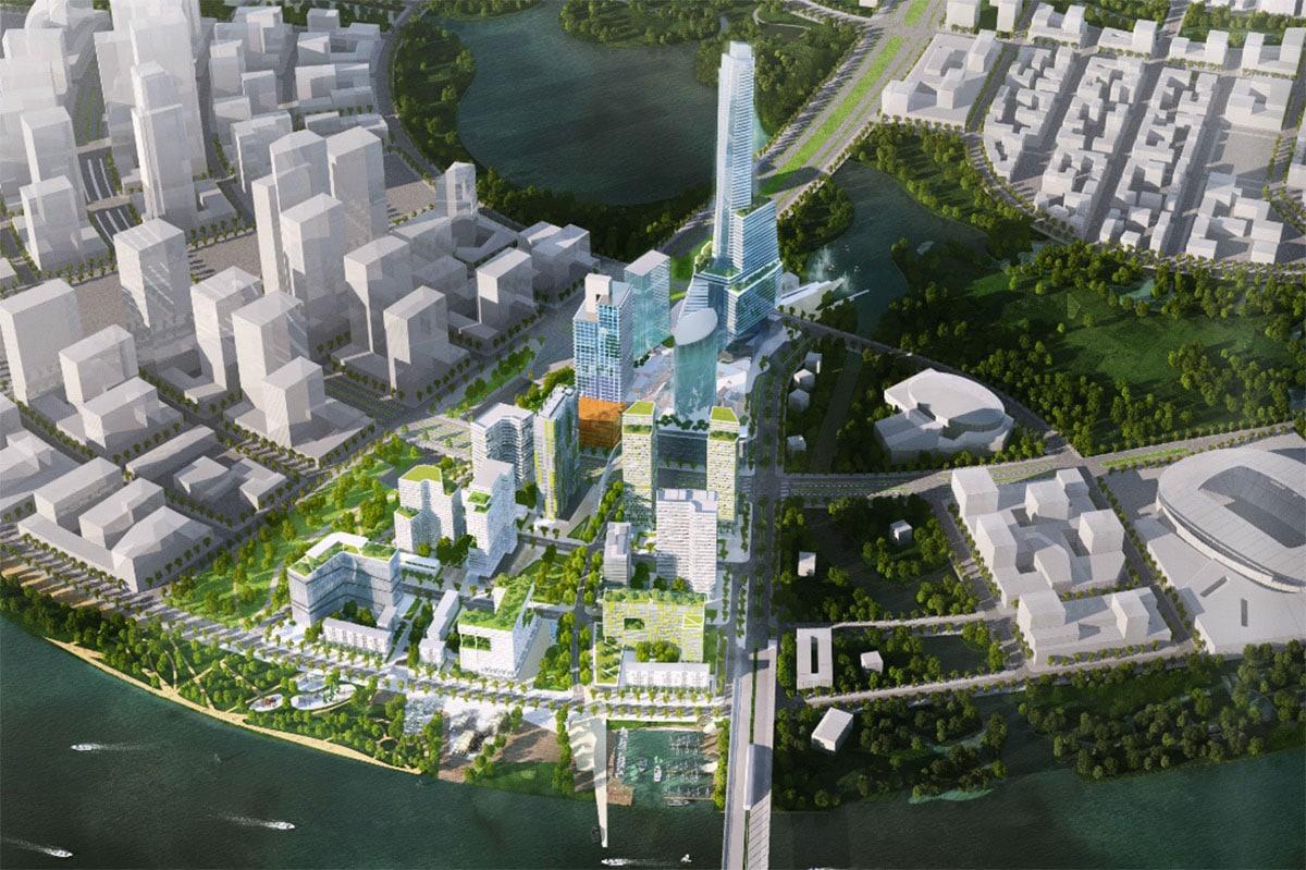 Mat bang Empire 88 Tower - TÒA THÁP CAO NHẤT VIỆT NAM EMPIRE 88 TOWER