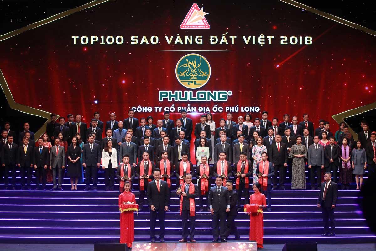 Phú Long đạt giải thưởng Top 100 thương hiệu tiêu biểu Việt Nam - CÔNG TY CỔ PHẦN ĐỊA ỐC PHÚ LONG