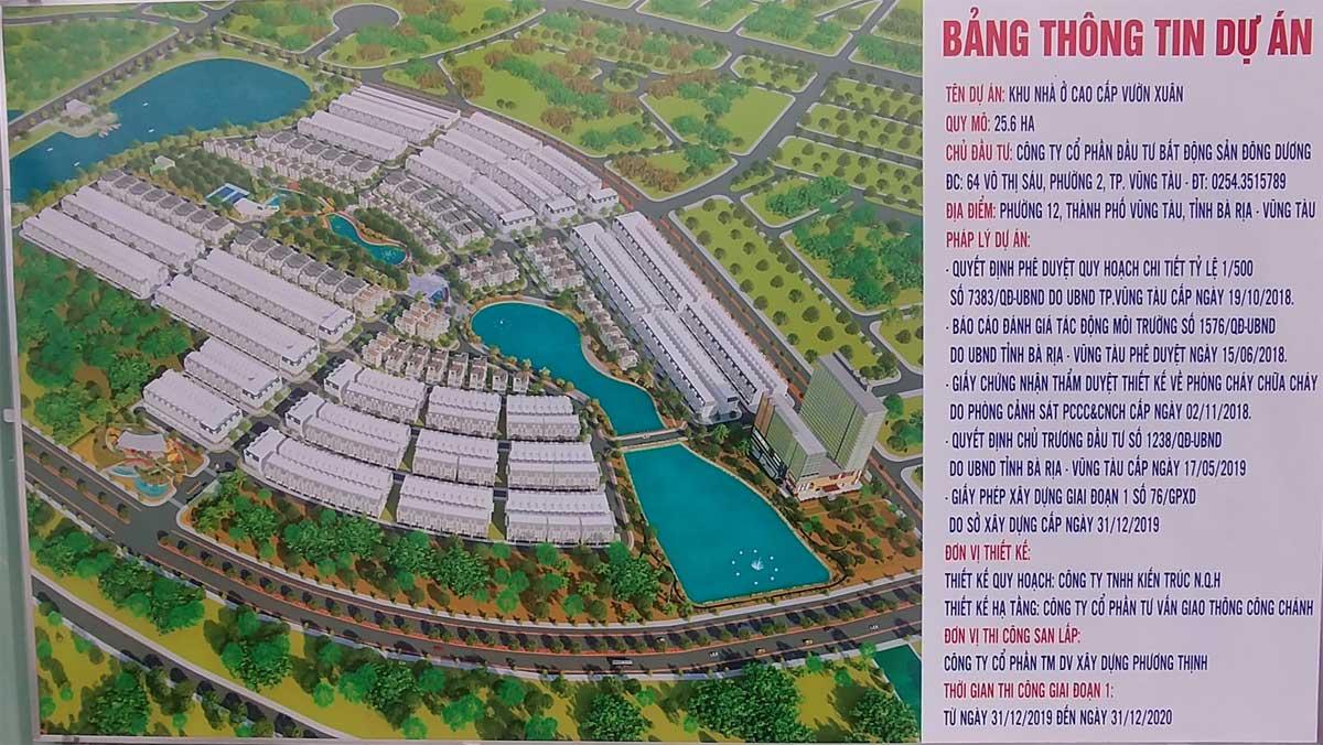 bang thong tin du an la vida residences - DỰ ÁN LA VIDA RESIDENCES VŨNG TÀU